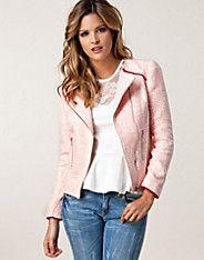 Neon Tweed Jacket - Awear - Pink - Jackets and coats - Clothing - NELLY.COM UK