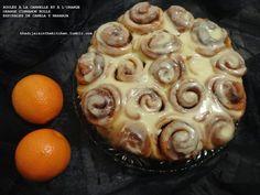 Khadija is in the kitchen: ROULÉS À LA CANNELLE ET À L'ORANGE / ORANGE CINNAMON ROLLS / ESPIRALES DE CANELA Y NARANJA