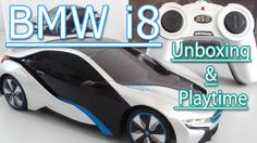 BMW i8: Toy Car Unboxing and Playtime   Toys For Kids