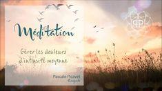 Méditation pour gérer la douleur par Pascale Picavet Psychopraticienne - YouTube Meditation Mantra, Affirmations, Lourdes, Mindfulness, Qi Gong, Sport, Buddha, Mindfulness Exercises, Yoga Exercises