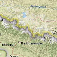 M7.8 - 34km ESE of Lamjung, Nepal