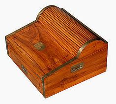 Emma- This is antique lap desk I think would be good for Bob. It shows Bob is poor and doesn't have the money to get himself a desk, but also how Scrooge is mean for not getting him a desk how he is to rich to care. Desk Accessories, Decorative Accessories, Antique Shops, Vintage Antiques, Lap Desk, Victorian Furniture, Nautical Art, Rollerball Pen, Casket
