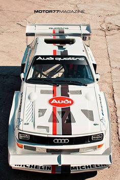 1987 Walter Rohrl's Audi Quattro S1 Pikes Peak
