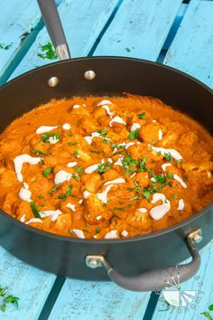 This Vegan Cauliflower Tikka Masala is composed of a healthy sauce that's full of spice, very bold in flavor, rich, and creamy!