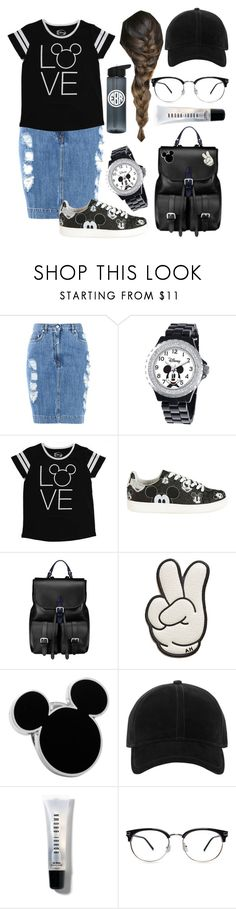 """""""Disney Love"""" by kaitydidwhat on Polyvore featuring Moschino, Disney, MOA Master of Arts, Aspinal of London, Anya Hindmarch, rag & bone and Bobbi Brown Cosmetics"""