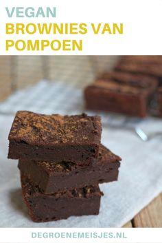 Eén van onze  succes recepten: brownies van pompoen en speltmeel. Iets voor jou om eens uit te proberen?
