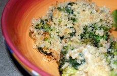 cheesey rice and brocolli