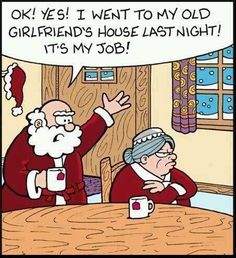 Santa Visits His Old Girlfriends House ---- hilarious jokes funny pictures walmart fails meme humor Haha Funny, Funny Memes, Lol, Funny Ads, Funny Stuff, Funny Quotes, Hilarious Jokes, Funniest Memes, Fun Funny