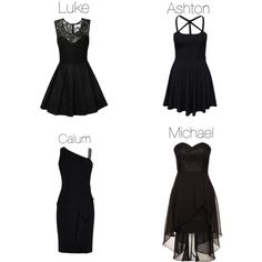5sos preference- Little black dress he buys you