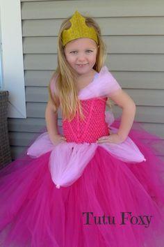 ba4fa4a25 Aurora Tutu Dress, Aurora Costume, Sleeping Beauty Costume, Aurora Dress  Pink Princess Dress, Princ