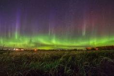 Aurora Taken by Derek Demeter on September 4, 2016 @ Three Hills Alberta