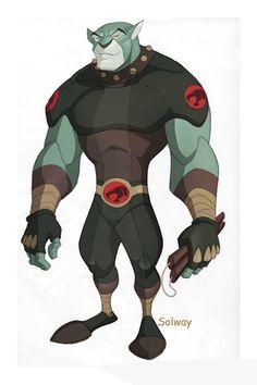 Panthro:Thundercats design by ~Kravenous