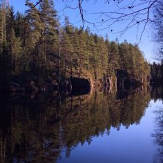 Autumn sunshine in Finland - Syysauringon paistetta Keski-Suomessa