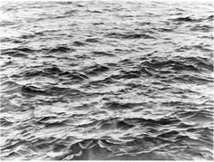 Vija Celmins  Untitled (Big Sea #2)  1969  graphite on acrylic ground on paper  33 1/2 x 44 in.