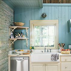I think I would love this color in my kitchen with my white cabinets