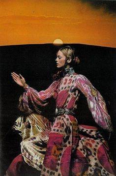 marahoffman:Vogue UK, December 1970