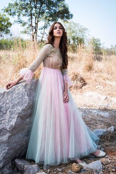 Buy beautiful Designer fully custom made bridal lehenga choli and party wear lehenga choli on Beautiful Latest Designs available in all comfortable price range.Buy Designer Collection Online : Call/ WhatsApp us on : Indian Gowns Dresses, Indian Outfits, Indian Long Gowns, Bridal Dresses, Designer Gowns, Indian Designer Wear, Net Gowns, Bridal Lehenga Collection, Indian Bridal Lehenga