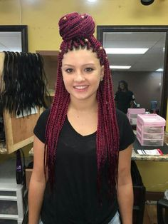 Who says white girls, or girls of different race can't rock box braids