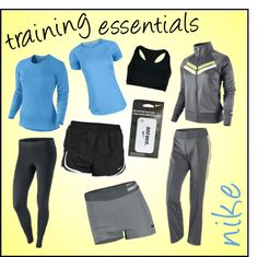 """Nike Training Essentials"" by tennisexpress on Polyvore"