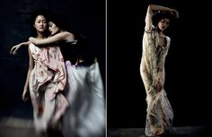 February Issue of Dazed & Confused. Hyoni Kang and Ming Xi. Stunning.