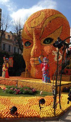 Lemon carnival fete du citron festival starts in france for Jardin bioves 2015