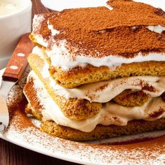 This authentic Italian tiramisu recipe is heavenly.