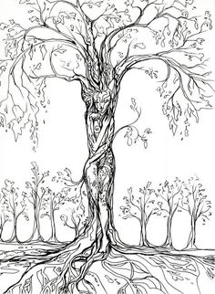 Tree of life tekenen 24 ideas Tree Of Life Art, Tree Art, Arte Yin Yang, Afrique Art, Tree Tattoo Designs, Celtic Tree, Life Tattoos, Tatoos, Painting & Drawing