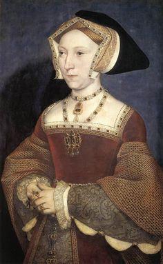1537 Jane Seymour by Holbein (Kunsthistorisches Museum, Wien)