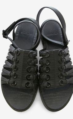 Givenchy Black Sandal