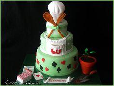 Grandmother cake - by Cristina Quinci @ CakesDecor.com - cake decorating website