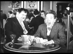 Just a clip of this part of Stan Laurel's infectious laughing!  To me...this is my all time favorite clips of these two.  It is sooooo hilarious!!!  Hahahaha!!
