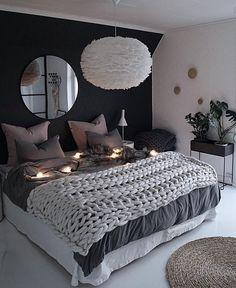 39 Fantastic bedroom color schemes that create a relaxing haven -.- 39 Fantastische Schlafzimmer-Farbschemata, die eine entspannende Oase schaffen -… 39 Fantastic bedroom color schemes that make a … - Blue Bedroom, Trendy Bedroom, Cozy Bedroom, Home Decor Bedroom, Modern Bedroom, Contemporary Bedroom, Bedroom Romantic, Girls Bedroom, Bedroom Furniture