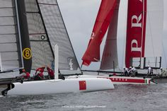 China Team & Luna Rossa