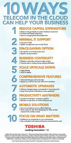 10 ways cloud phone system can help your business Capital Expenditure, Server Room, Telephone, Investing, Clouds, Canning, Business, Infographics, Engineering