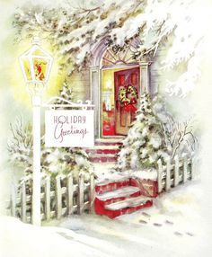 Holiday Greetings by saltycotton, via Flickr