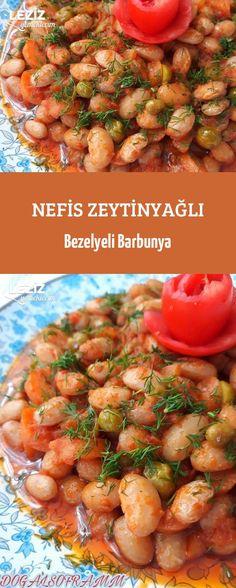 Nefis Zeytinyağlı Bezelyeli Barbunya Sulu yemek - Comidas fáciles - Las recetas más prácticas y fáciles Turkish Recipes, Ethnic Recipes, Healthy Food To Lose Weight, International Recipes, Main Dishes, The Best, Food And Drink, Appetizers, Garlic