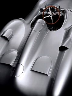 1955 Mercedes-Benz 300 SLR Streamliner | W196R | Sports Leicht Rennsport - Sports Light Racing | The W196 was the Mercedes-Benz F1 car used in the 1954 and 1955 Formula One seasons | Driven by Juan Manuel Fangio and Stirling Moss, it won 9 of 12...