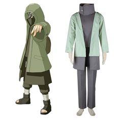 Naruto Shippuden Aburame Shino 2ND Cosplay Costumes