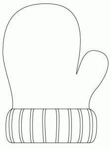 Mitten coloring page/template Winter Art, Winter Theme, Winter Activities, Christmas Activities, Winter Crafts For Kids, Art For Kids, Toddler Crafts, Preschool Crafts, Winter Christmas