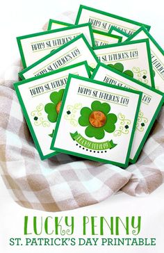 Lucky Penny St. Patrick's Day Free Printable