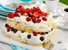Marengstærten er populær på dessertbordet, og så er den nem at bage