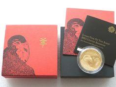 2015 British Lunar Sheep £2 Two Pound Silver Gold Proof 1oz Coin Box Coa