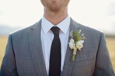 boutonniere - Hunter Valley Wedding from Kellee Walsh