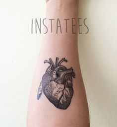 A temporary tattoo that lets you wear your heart on your sleeve.
