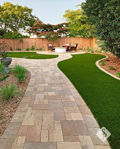 A backyard remodel should encompass elements that make your outdoor space the ideal retreat or oasis if you will. This remodel located in Southern California has elements designed and installed by System Pavers that include: full built-in bbq, energy eff Backyard Garden Design, Small Backyard Landscaping, Patio Design, Backyard Patio, Landscaping Ideas, Paved Backyard Ideas, Shade Landscaping, Hillside Landscaping, Backyard Seating