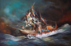 Quilted Sail by Esao Andrews