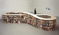 Libreria design moderno, Infinity Bookshelf