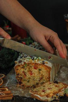 Fruit Pound Cake with Orange glaze – Cau de sucre Sweet Recipes, Cake Recipes, Gateaux Cake, Plum Cake, Pan Dulce, Savoury Cake, Christmas Baking, Clean Eating Snacks, Cupcake Cakes