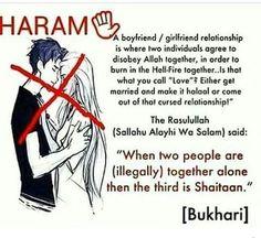 Haram. #Muslims.☝☝☝☝