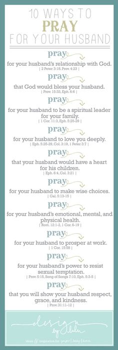 Perfect prayer while you are waiting for your future husband! And perfect prayer to continue after you have met him!